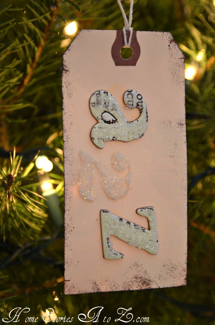 tag ornament