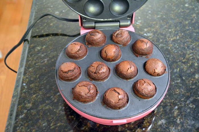 Brownie Mix Cake Pop Maker