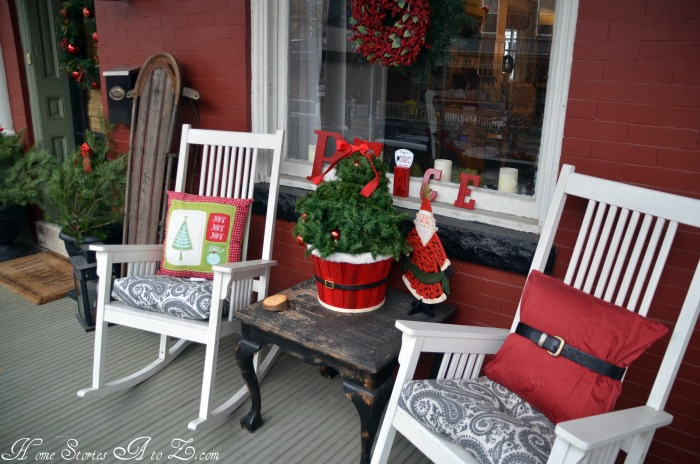 Front Porch Christmas Decorations Pictures