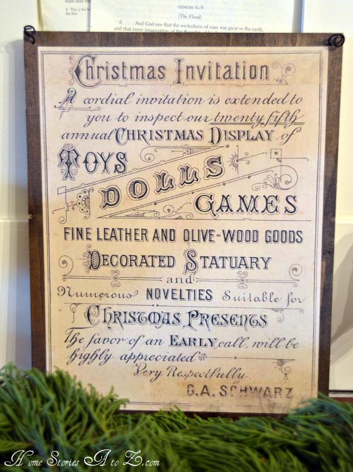 Christmas Mantel Homemade Christmas Ideas