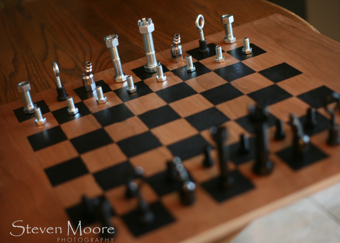 how to make a chess board