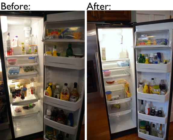 how to clean refrigerator