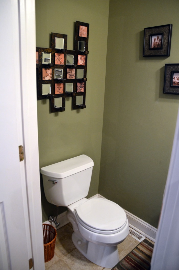 Plans for the half bath my bathroom home stories a to z for Small half bathroom designs