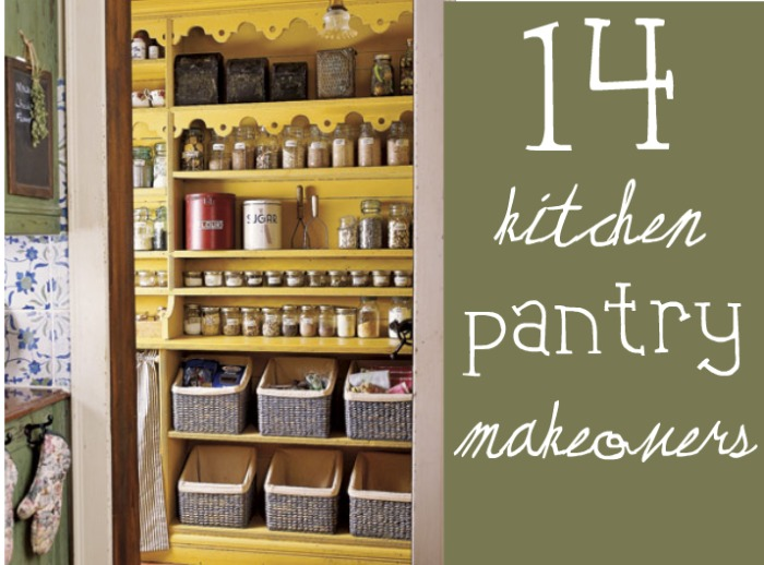 14 Inspirational Kitchen Pantry Makeovers - Home Stories A to Z