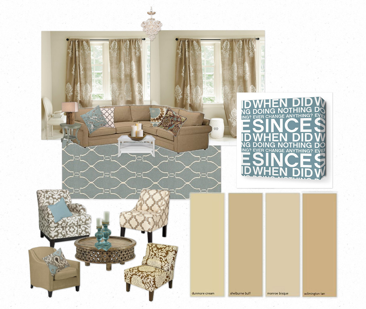 Updating a Living Room & Pinterest Contest at Homes.com ...