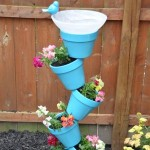 diy garden bird bath