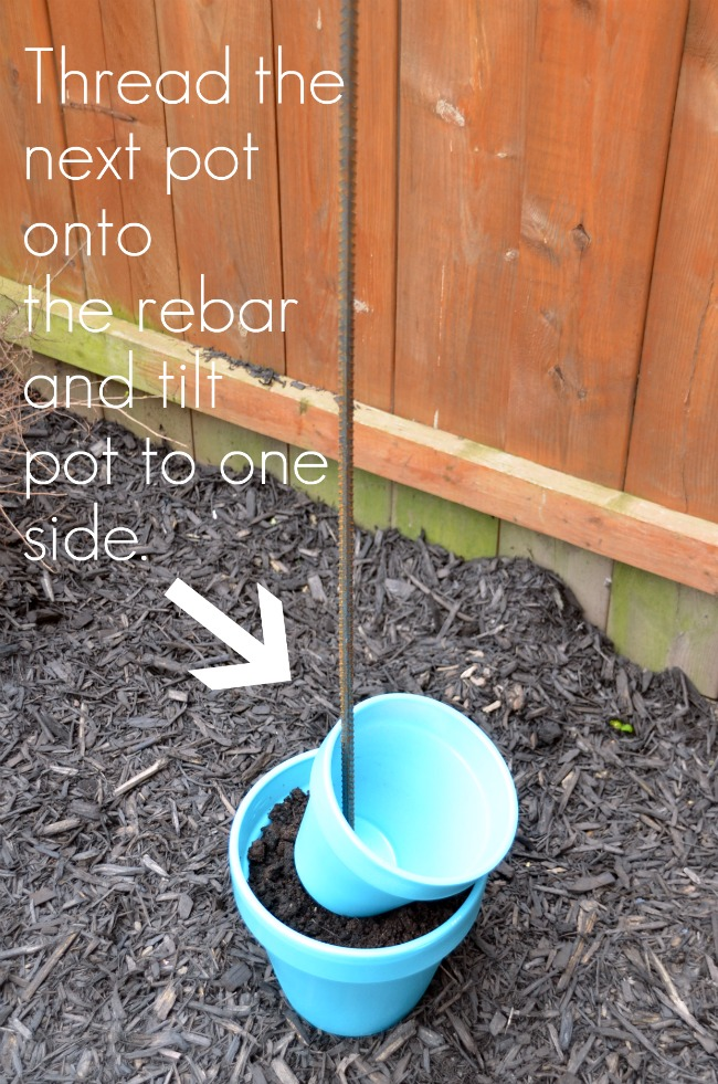 DIY Garden Planter & Birds Bath