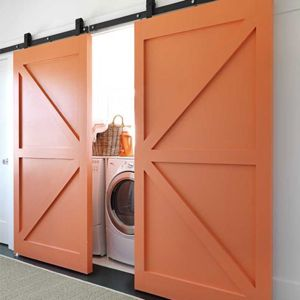 Inspiration File Barn Doors For Laundry Closet