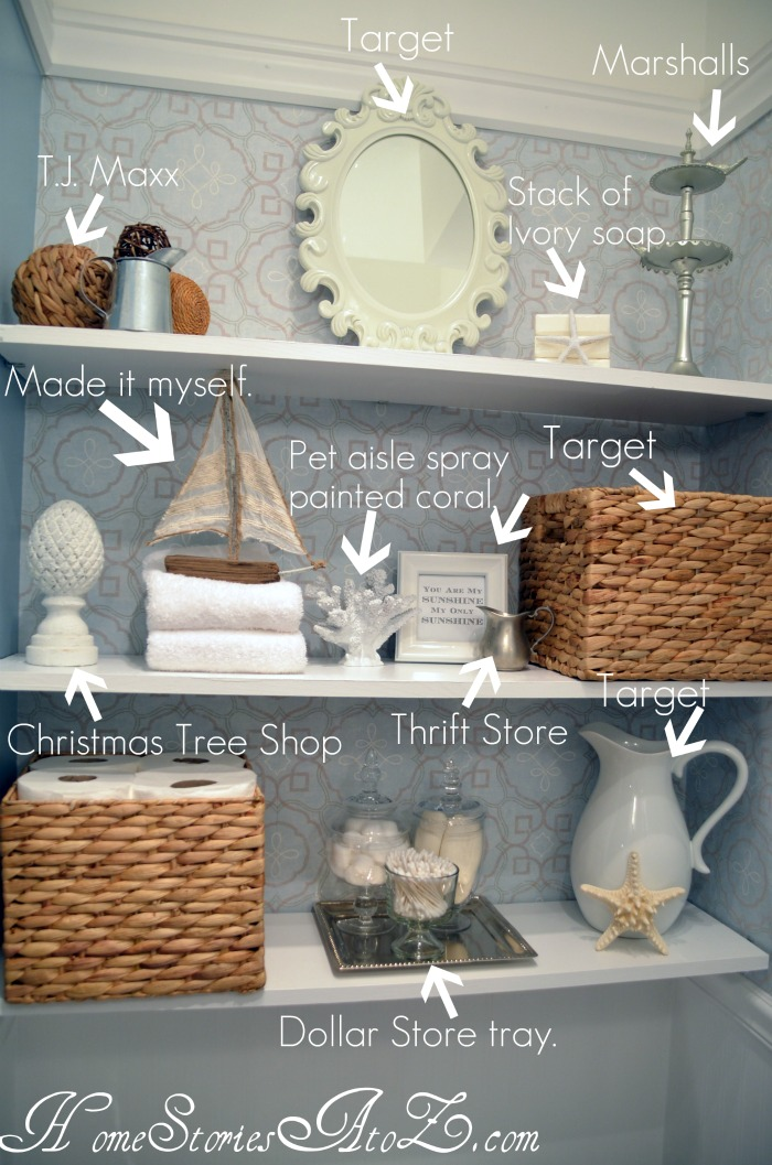 Decorating Wall Shelves Tips : How to decorate shelves home stories a z