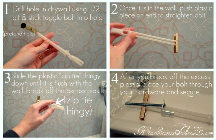 how to hang shelves