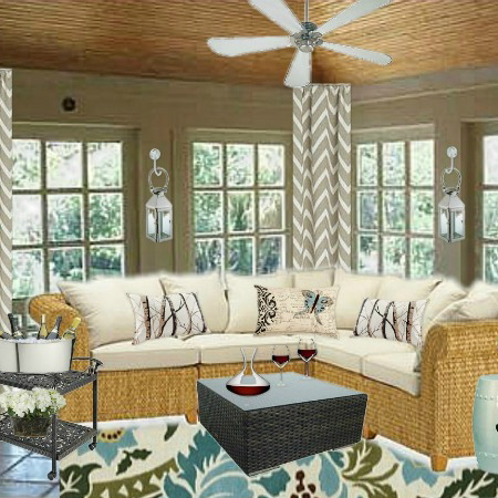 Reader 39 s room conundrum how to decorate a sunroom home for Decorating a sun room