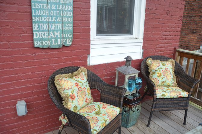 pier one patio furniture Pier 1 Imports: Porch Makeover & $100 Pier 1 Gift Card pier one patio furniture