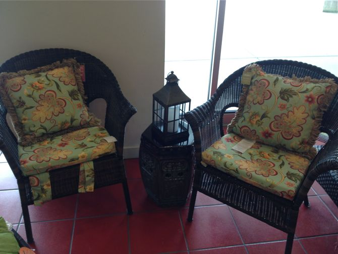 pier 1 imports wicker chair 1