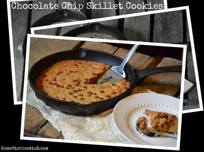 Skillet Chocolate Chip Cookie {cookie recipe} - Home ...