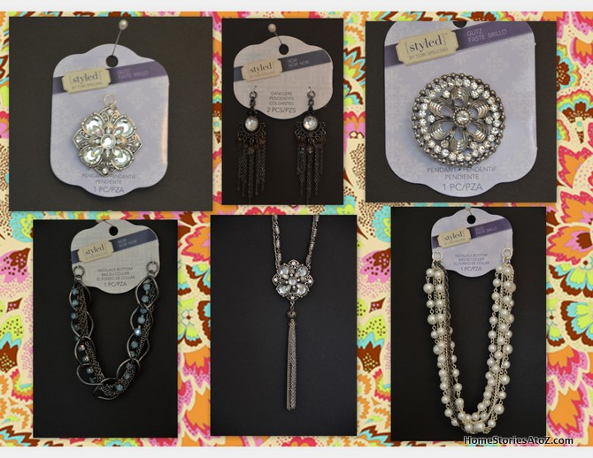 diy jewelry, styled by Tori Spelling