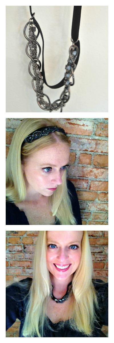 headband to necklace