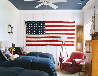 american flag living room fourth of july how to decorate with the united states 12874