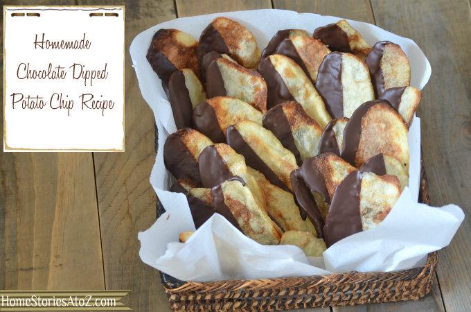 chocolate dipped potato chip recipe