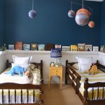 Sherwin Williams Rainstorm Boys' Room Reveal {giveaway}