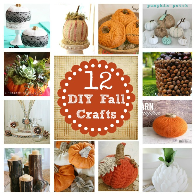 Diy Home Decor Ideas That Anyone Can Do: Do It Yourself Decorating Fall Craft
