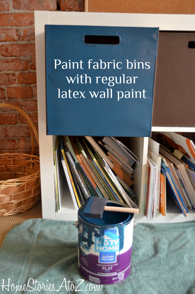 latex paint fabric