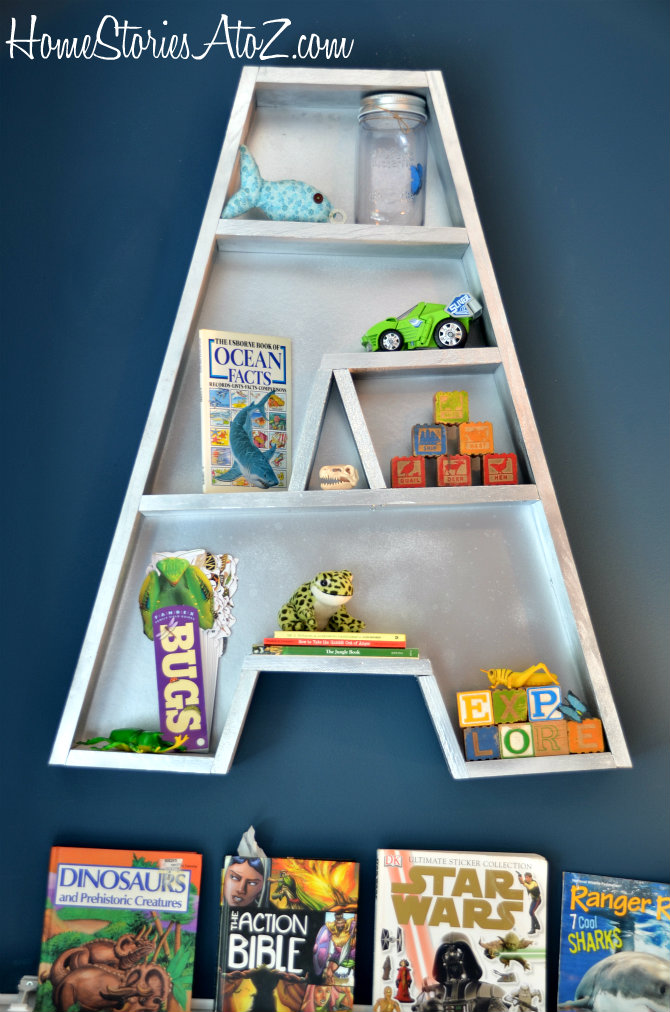 Letter A Bookshelf Tutorial 3m Diy Starts Here
