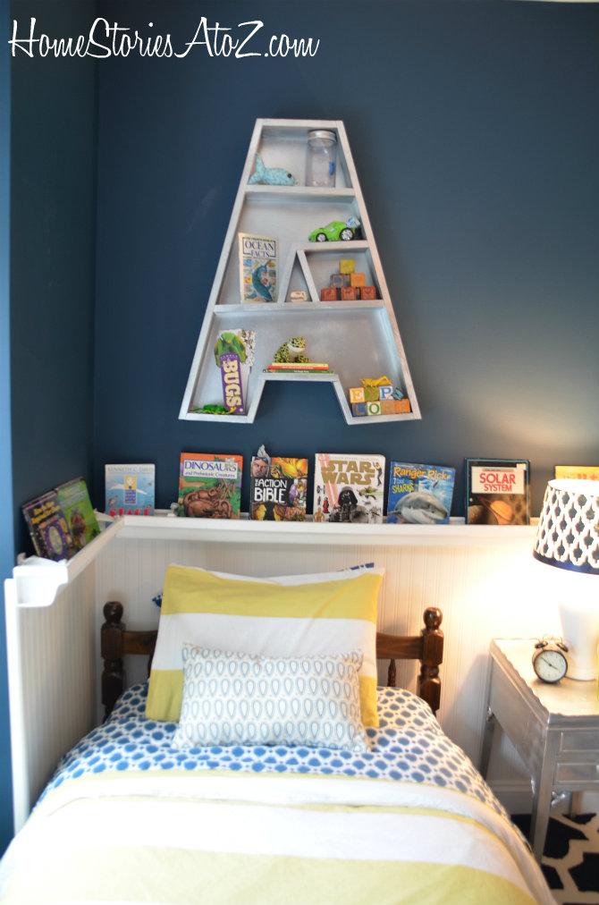 letter a bookshelf plans