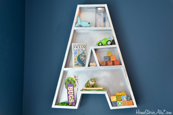Letter A Bookshelf Tutorial 3m Diy Starts Here Home