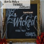 How to Make a Chalkboard #LowesCreator