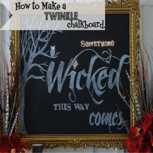 chalkboard button