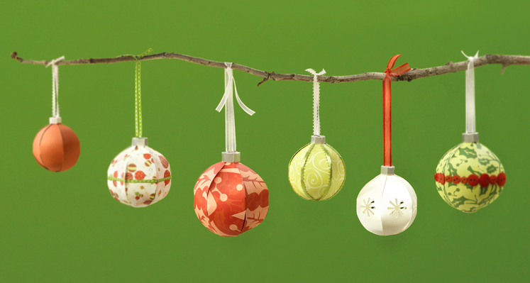silhouette christmas ornaments