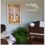 Inspiration file: Tree of Life Painting Twilight Tree Art