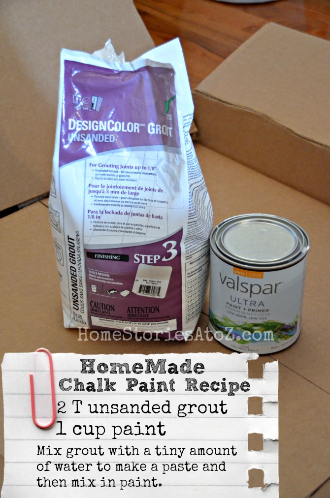 homemade chalky finish paint recipe lowescreator home