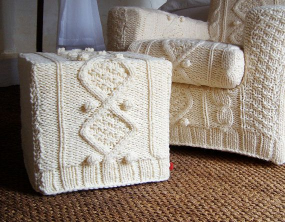 cable knit ikea covers