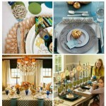 Non-traditional Thanksgiving Table Setting Ideas