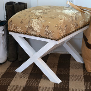 Do It Yourself X Leg Ottoman Home Stories A To Z