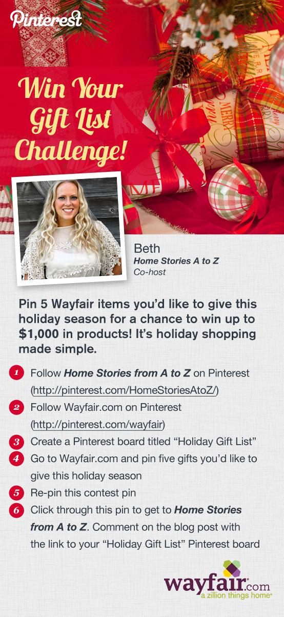 Wayfair Pinterest Contest