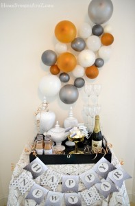 new years eve decorating