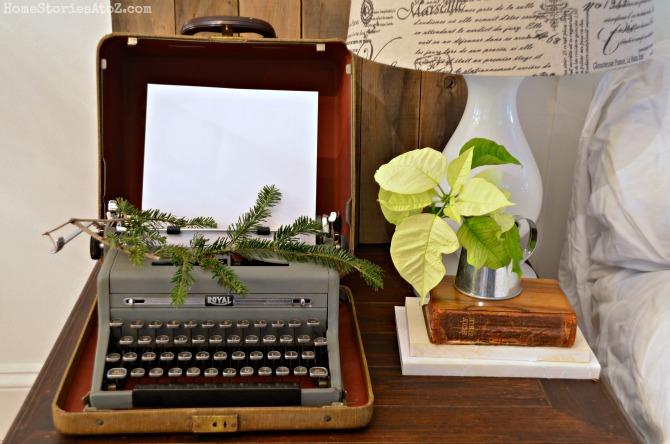 typewriter vignette