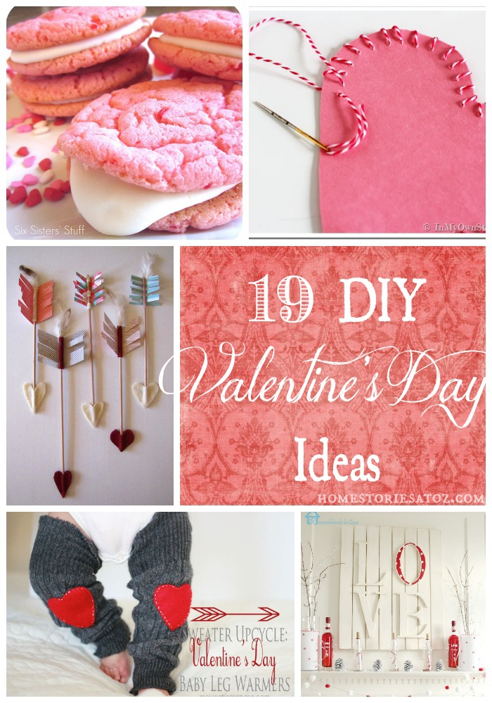 19 Easy DIY Valenine\'s Day Ideas - Home Stories A to Z