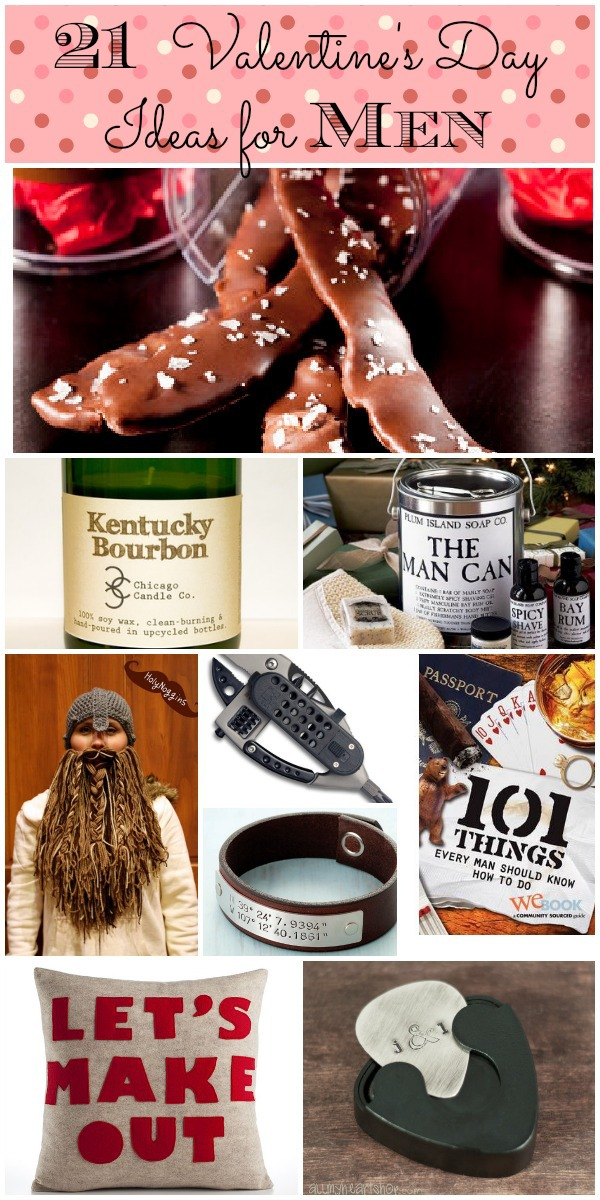 21 Unique Valentine's Day Gift Ideas for Men - Home Stories A to Z