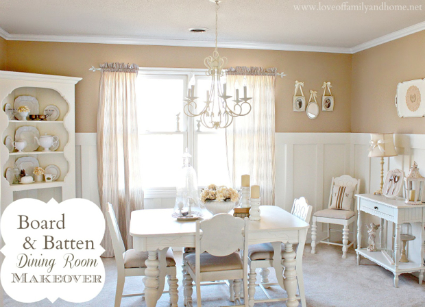 Board & Batten Dining Room