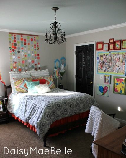 Cute DIY Projects for Girls Bedroom 427 x 534