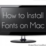 install fonts on mac