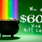 Pot of Gold Giveaway: $600 Visa Gift Card