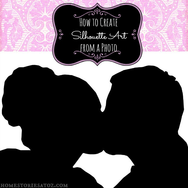 how to create silhouette art