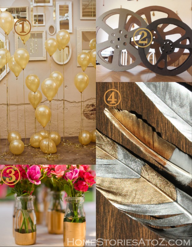 Oscar award party ideas home stories a to z for Awards and decoration