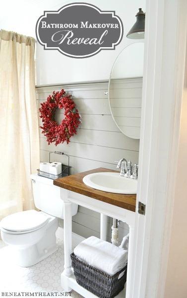 bathroom makevover