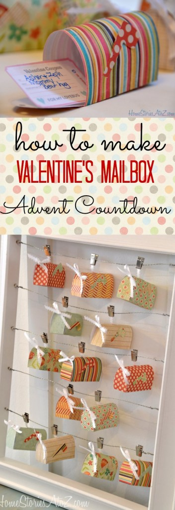 valentine's advent countdown