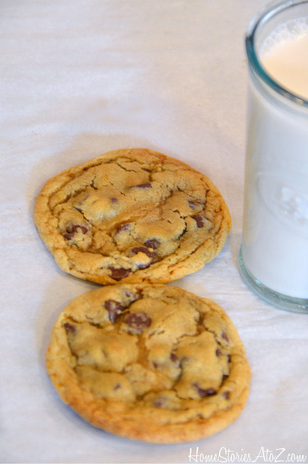 chocolate chip cookie recipe for 2